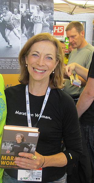 La primera mujer en correr un maratón. (2/2)