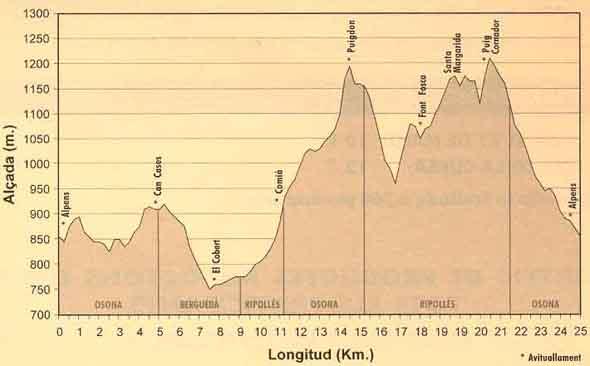 Perfil de la cursa