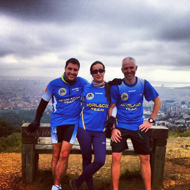 De izquierda a derecha, Jose, Lara y Pere