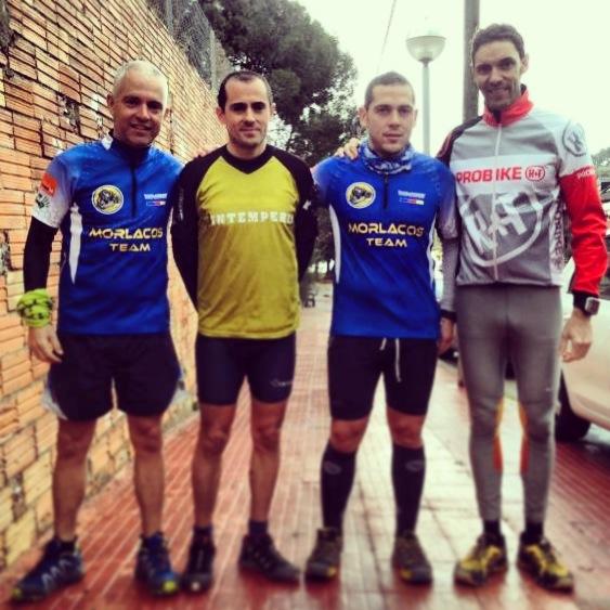 Pere, Oscar, Martin e Ivan
