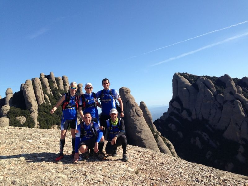 Foto en la cima del Montgrós!