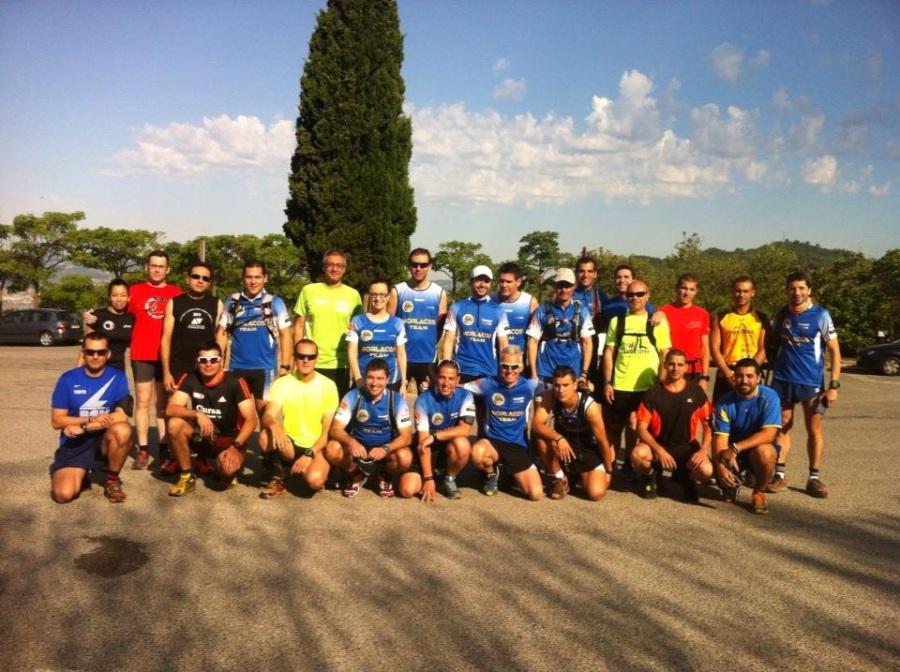 Estos fueron los runners que se unieron a nosotros en el primer entreno abierto que organizamos.