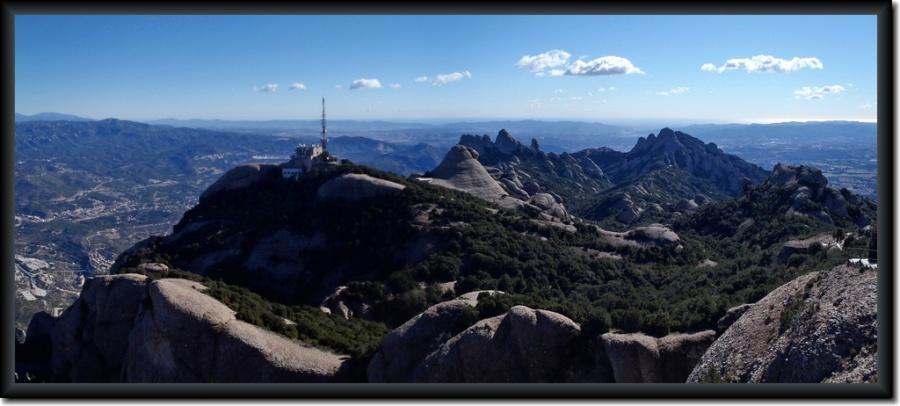 Sant Jeroni, el punto más alto de Montserrat