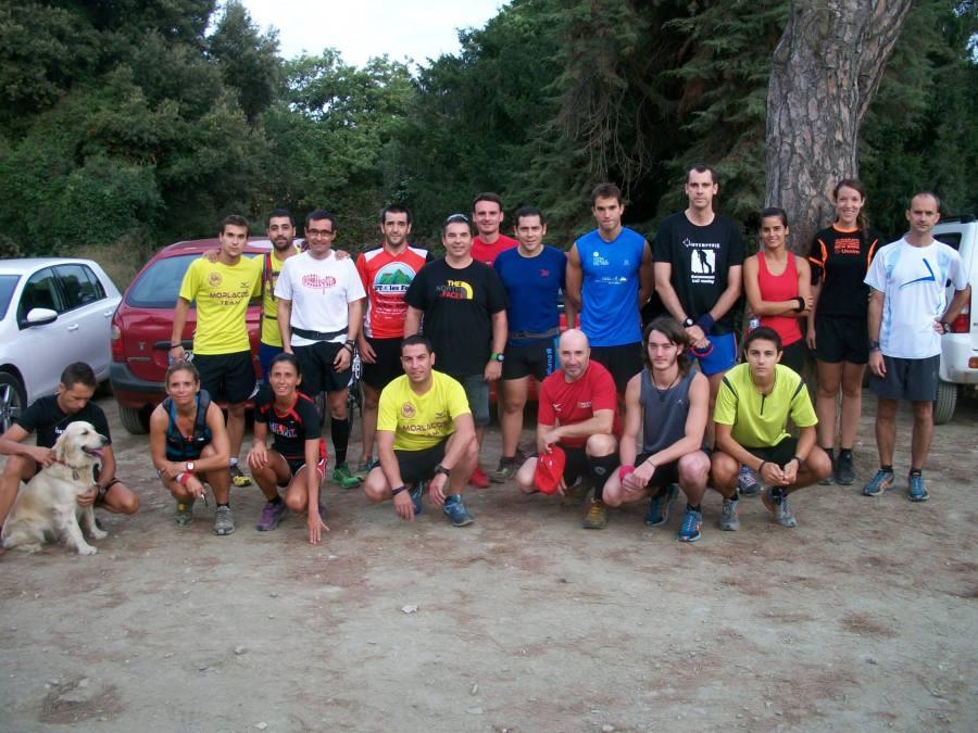 Grupo del entreno organizado por Intemperie