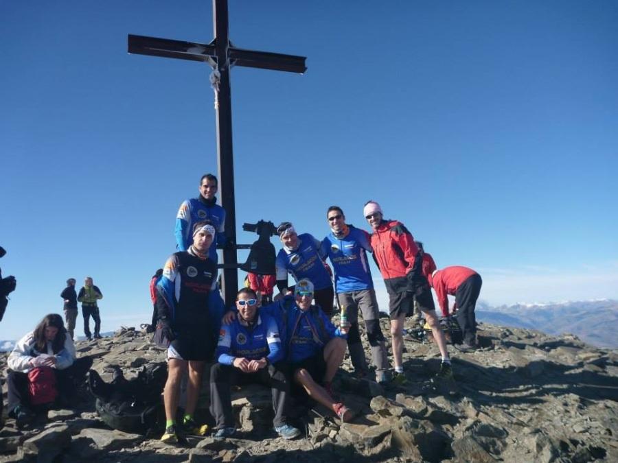 El Morlacos Team en el Puigmal.