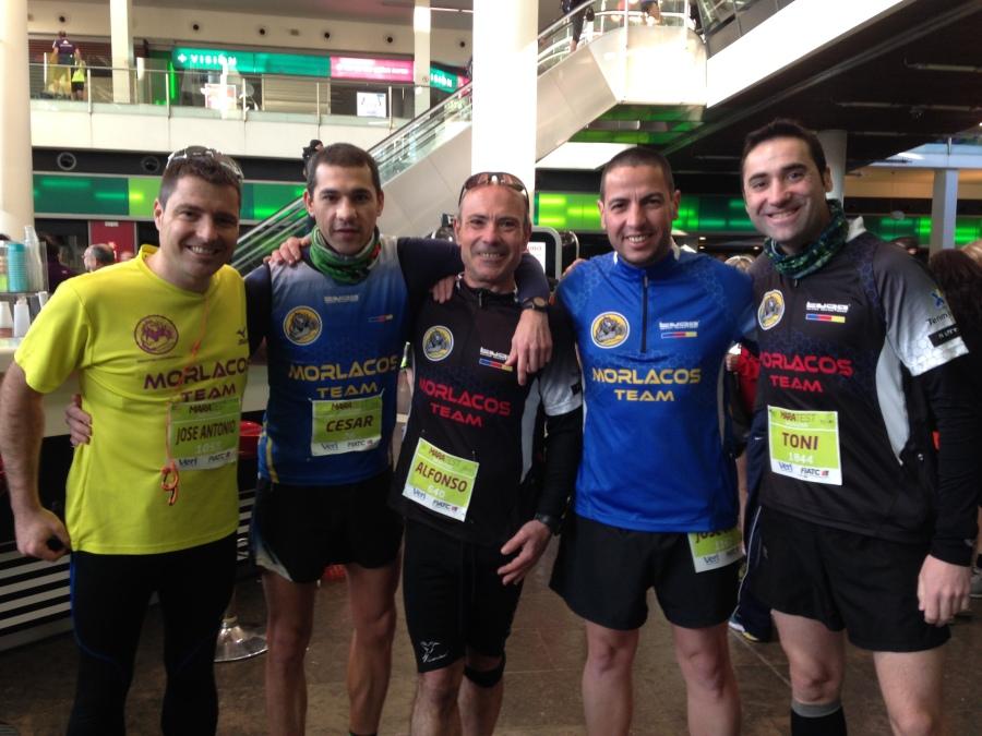 Representación del Morlacos Team en la Maratest