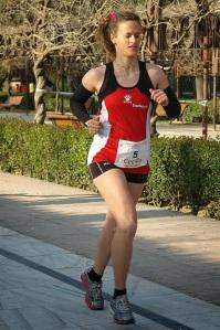 La triatleta fallecida Cecilia Rodriguez. Descanse en paz.