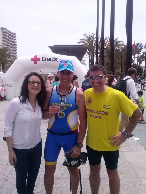 Con Yolanda y Jose