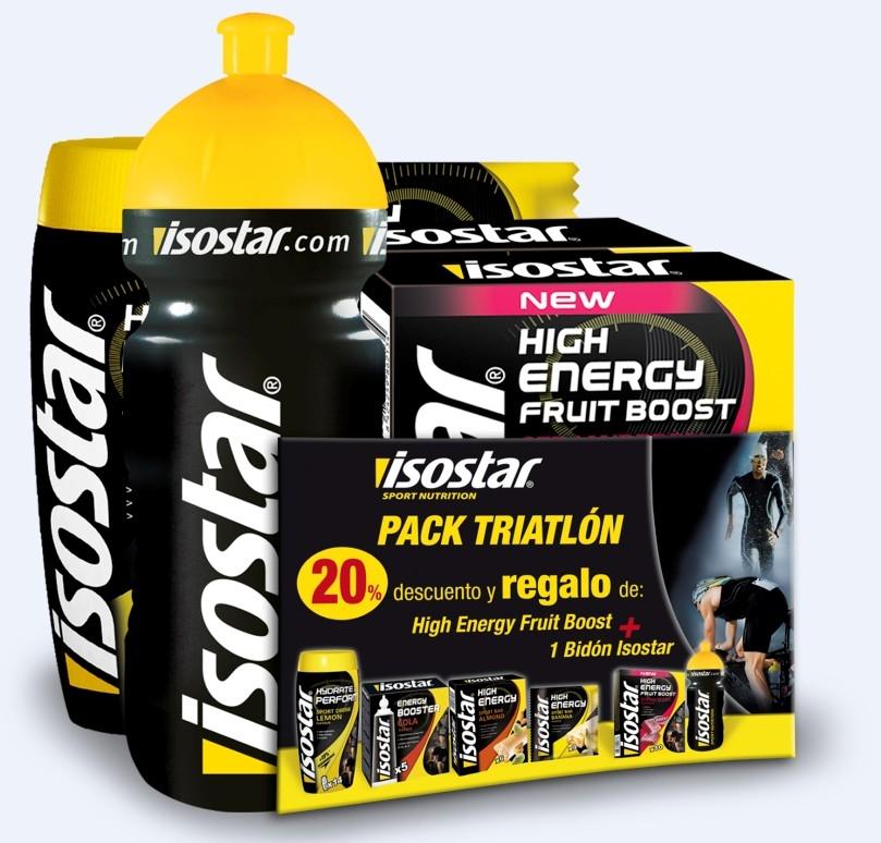 Pack específico para triatlon de ISOSTAR