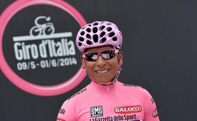 Nairo Quintana, vencedor del Giro d'Italia 2014