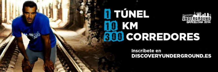 Cartel promocional de la Discovery Underground Barcelona 2014