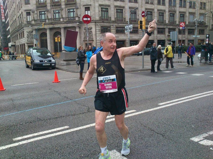 Miquel Pucurull en el Marató de Barcelona de 2.013