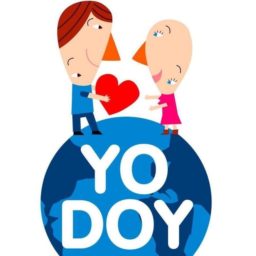Logo de la campaña #YoDoy de la Fundació Josep Carreras