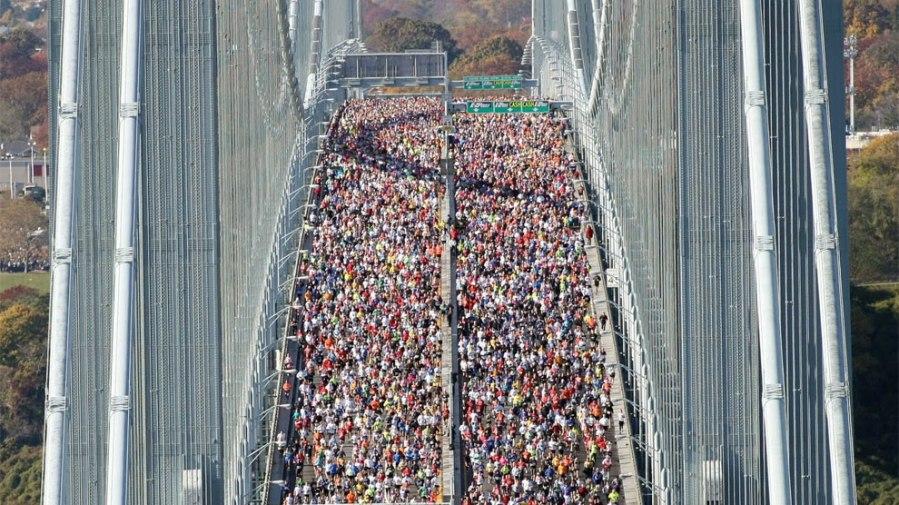 Maratón de New York... Un maratón que todo runner debería correr una vez en la vida.