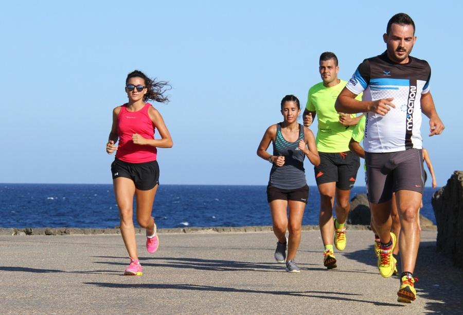 Correr en grupo es más fácil
