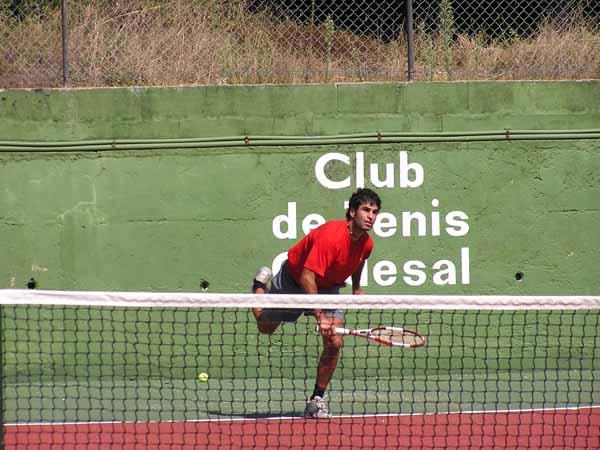 Gerard y el tenis