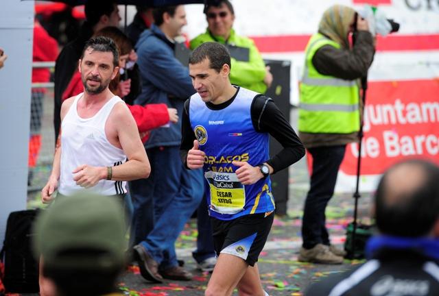 Marathon de Barcelona, 17 de Marzo de 2013. PHOTO/ JOSEP LAGO