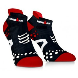 compressport-calcetines-ironman-pro-racing-socks-v21-run-low-negros